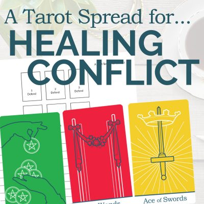 A Tarot Spread for Conflict and Misunderstanding