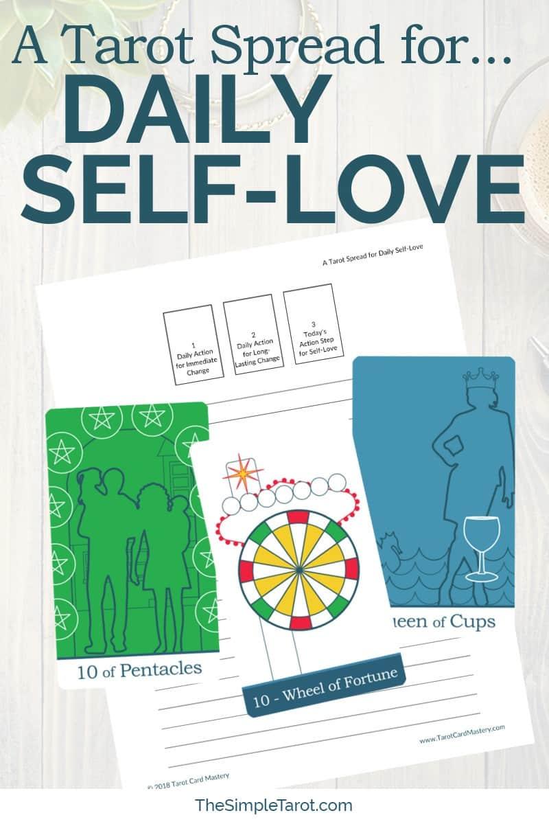 A Tarot Spread for Daily Self-Love
