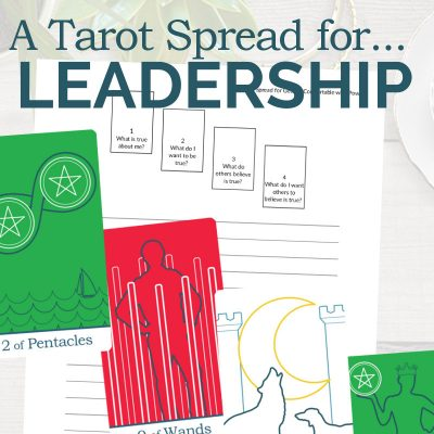 A Tarot Spread for Leadership and Power