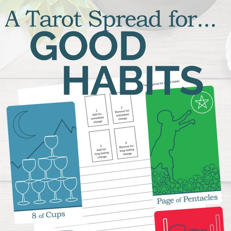 Get this PDF printable tarot spread from The Simple Tarot.