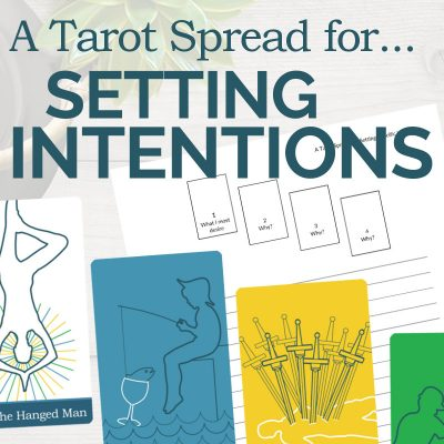 Reading the Tarot Spread for SMART Goals