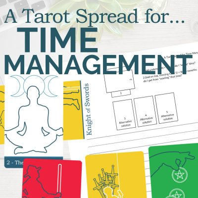 A Tarot Spread for Time Management