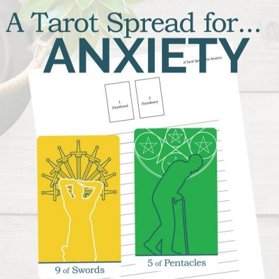 Reading the Tarot Spread for Anxiety