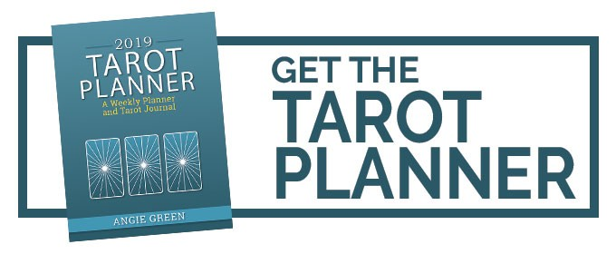 Get the 2019 Tarot Planner from The Simple Tarot