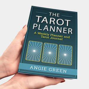 Undated tarot weekly planner from The Simple Tarot