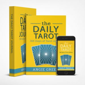 The Daily Tarot Kit with book, ebook, journal, and daily tarotscope emails