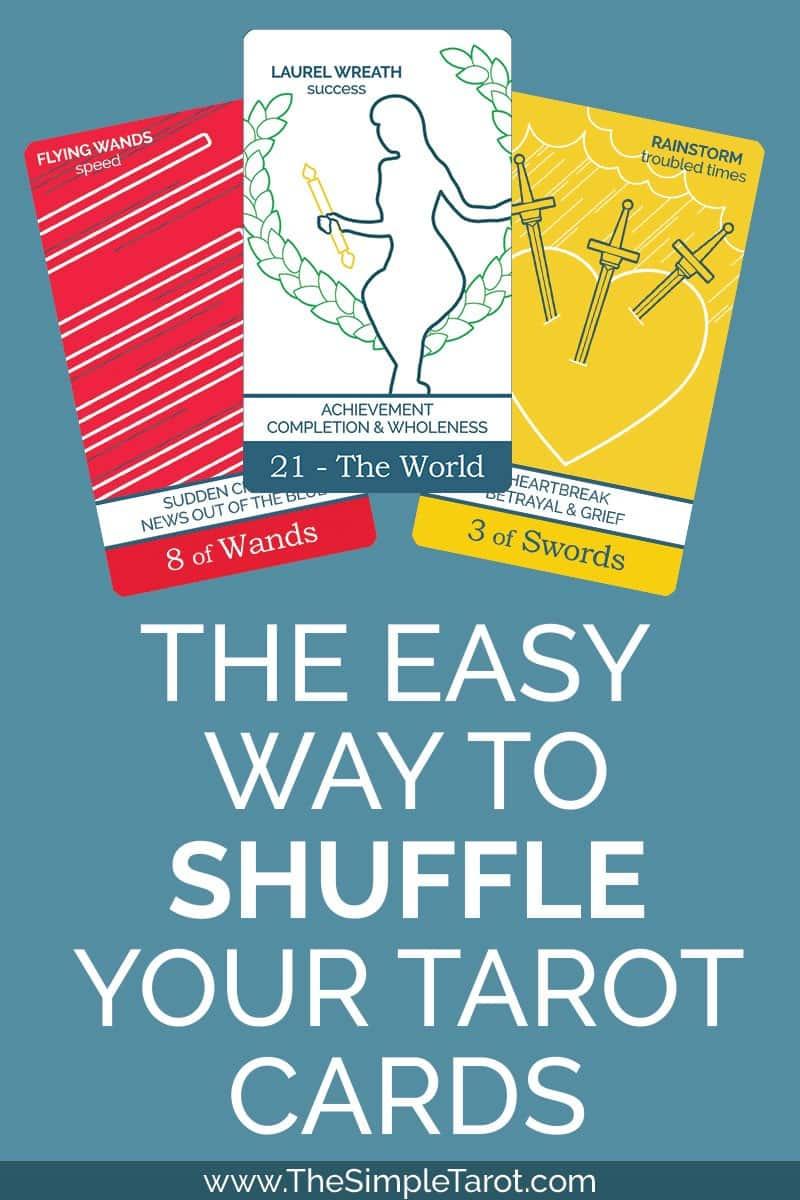 How to Shuffle Tarot Cards - Really!