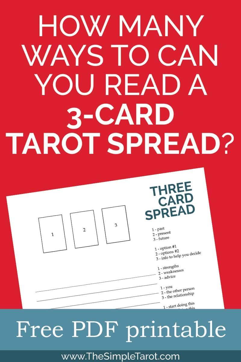 Tarot Spread Printable Archives - The Simple Tarot