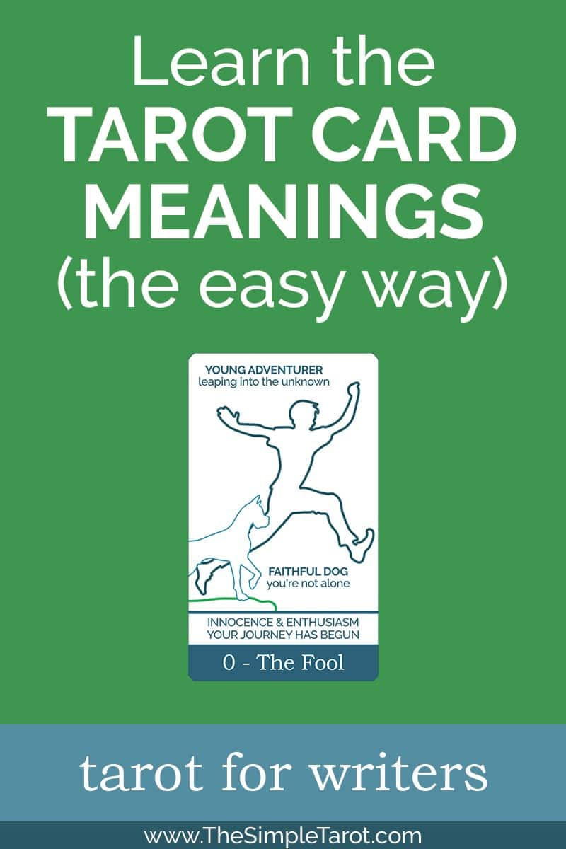 Learn as The Fool tarot card travels through the rest of the Major Arcana, meeting archetypes and obstacles along the way, on his Tarot Hero's Journey. #tarot #tarotcards